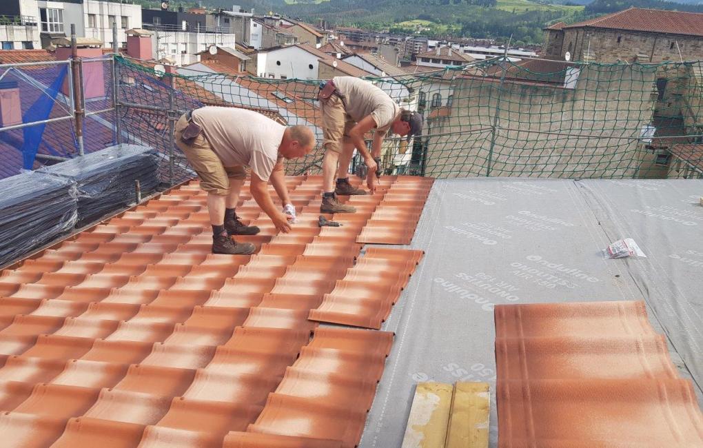 Instalación teja bituminosa ONDUVILLA
