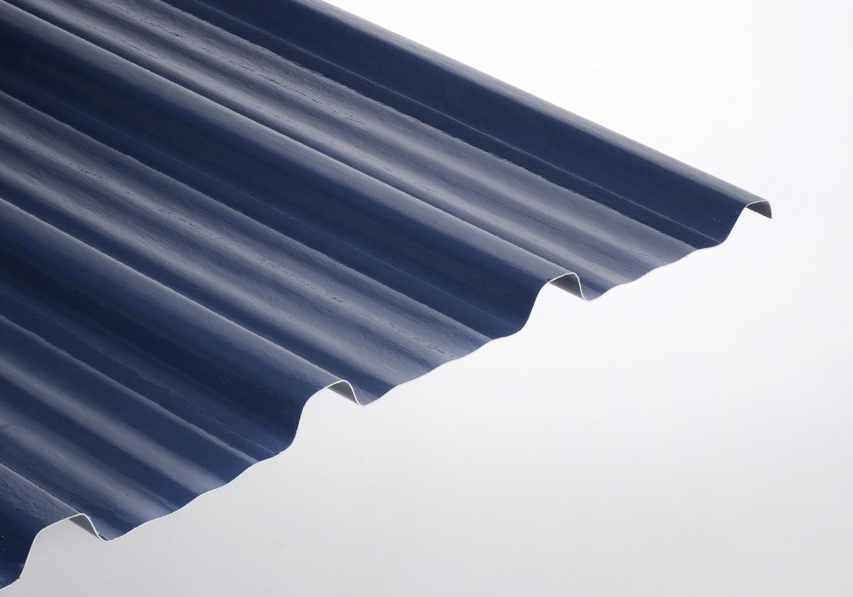 Placa poliéster resistente ONDUCLAIR PROTECT color azul