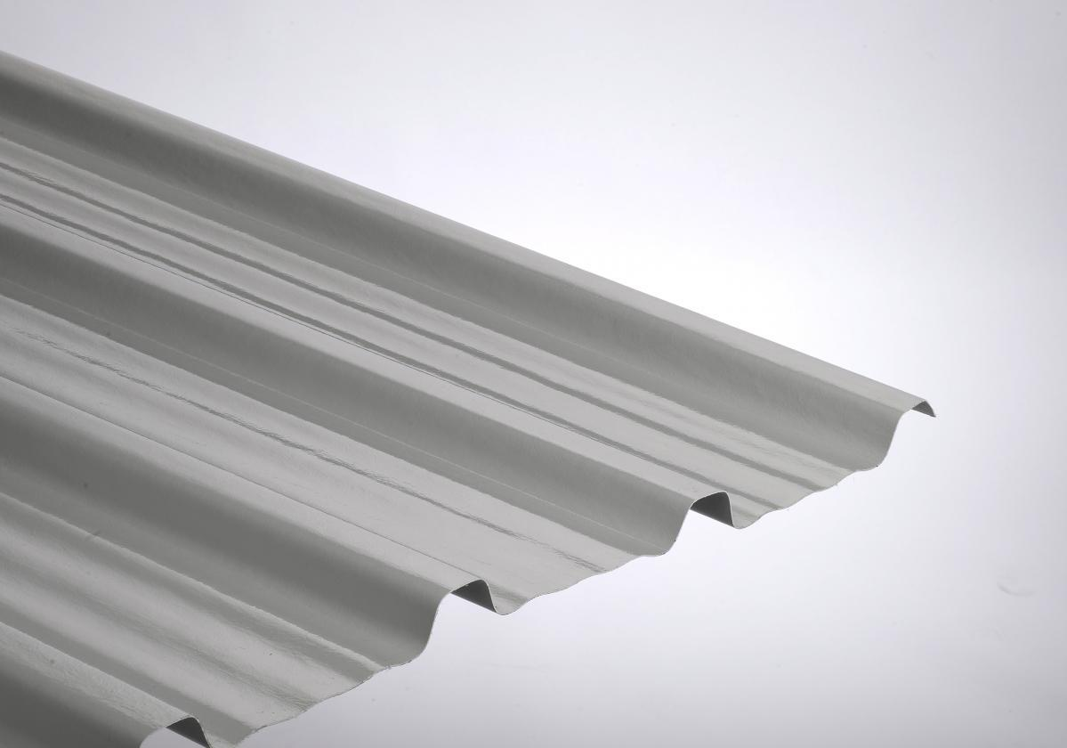 Placa poliéster resistente ONDUCLAIR PROTECT color gris claro