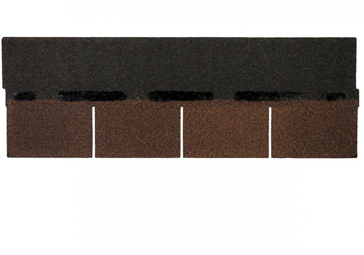 Tegola americana asfáltica BARDOLINE rectangular marrón