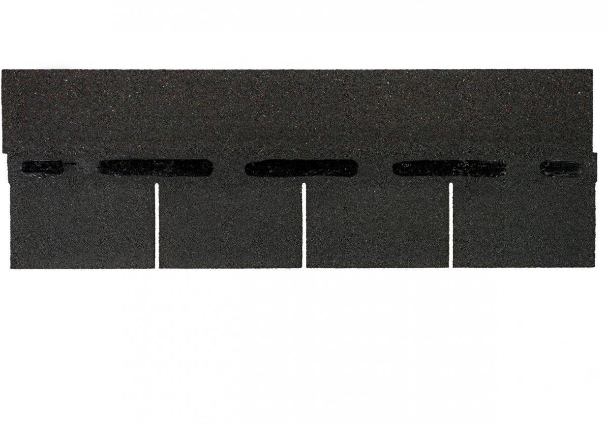 Tegola americana asfáltica BARDOLINE rectangular negro