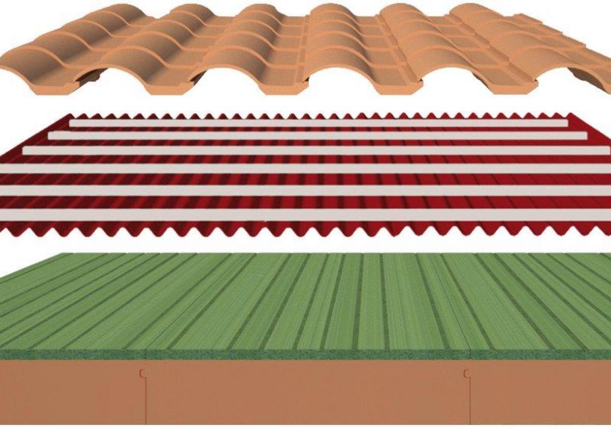 Componentes Solución completa aislamiento tejado: SIATE Onduline