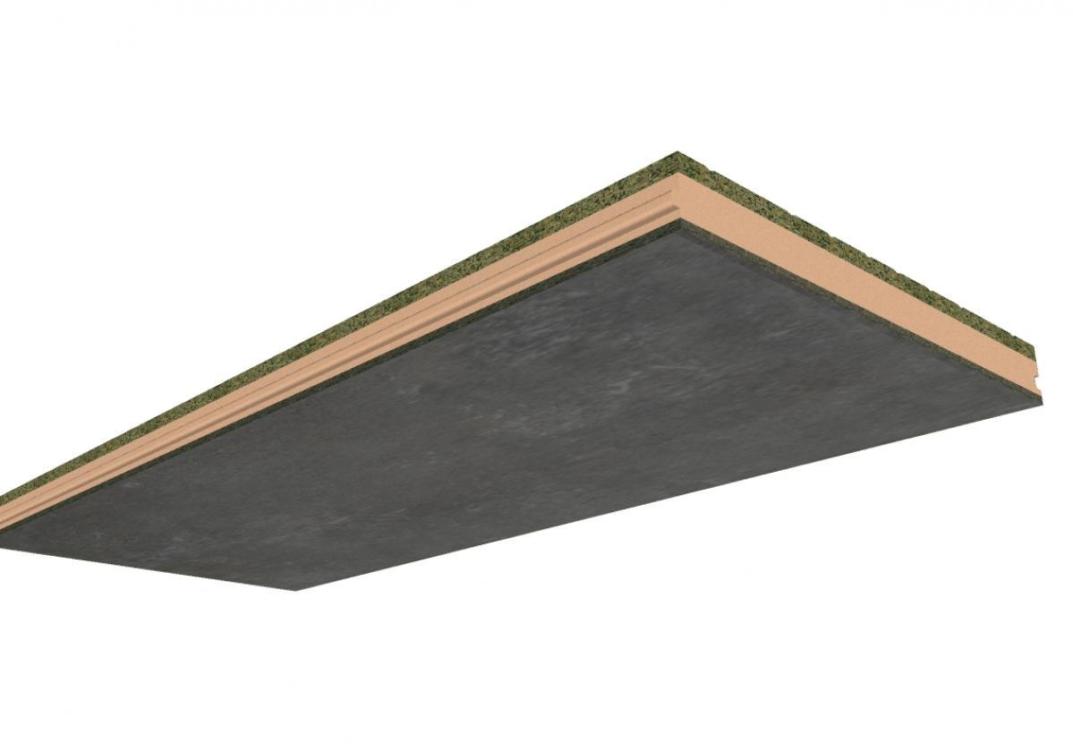 Panel Sandwich Madera ONDUTHERM: Cemento-Madera