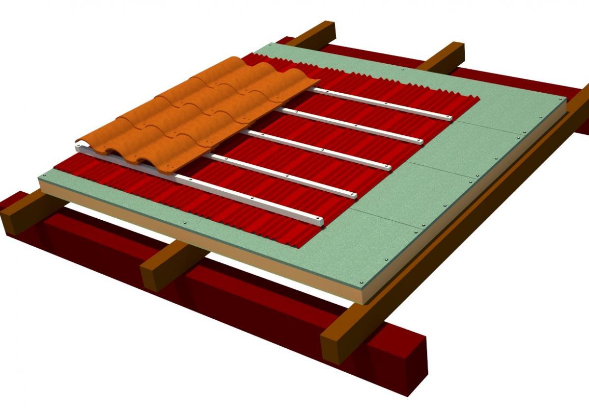 Sistema Integral Cubierta Ligera Madera y Teja Mixta