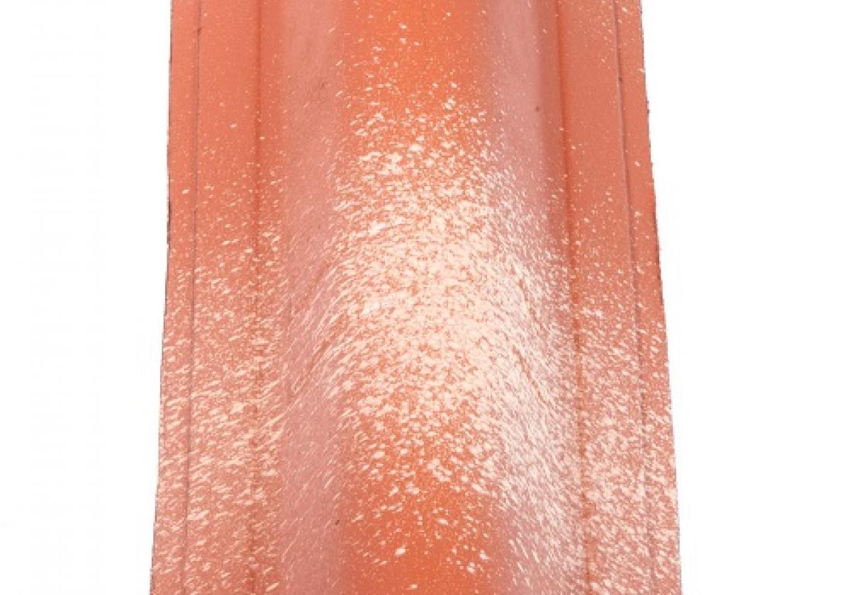 Cierre cumbrera CAP teja asfáltica ligera ONDUVILLA - detalle pieza color fiorentino
