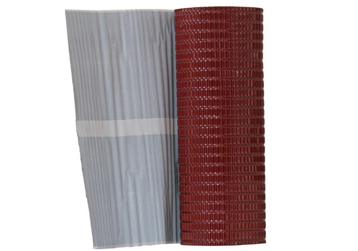 Cinta butilo impermeable sellado remates cubierta FLASHING BAND Onduline - detalle cinta butilo aluminio rojo