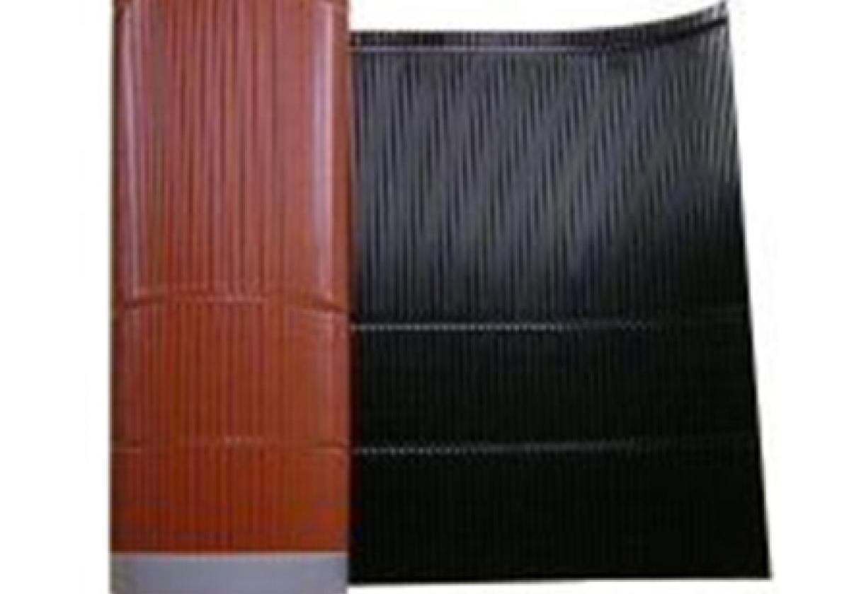 Cinta metálica impermeable sellado cubierta METALFILM - Impermeabilización Tejado Placa Bajo Teja