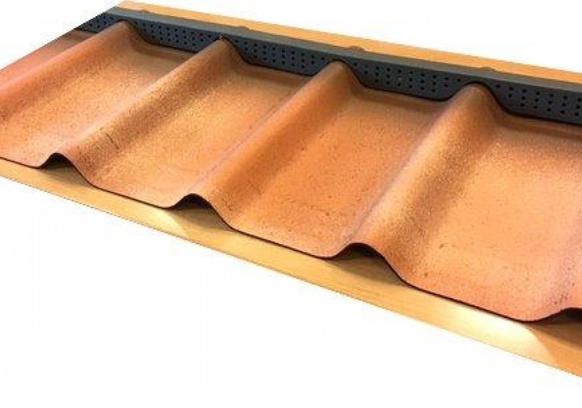 Foam alero cumbrera teja asfáltica ligera ONDUVILLA - remate alero ventilado - colocación cumbrera primer paso