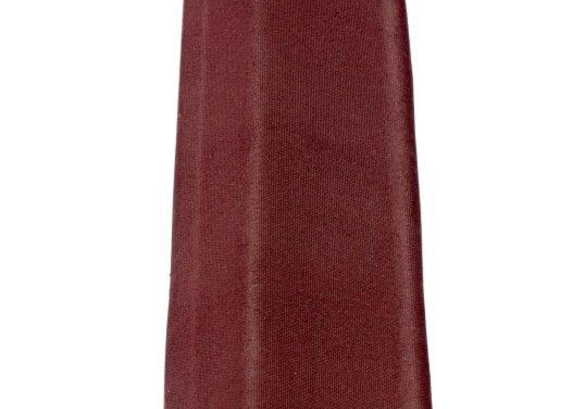 Remate lateral placa asfáltica ondulada imitación teja ONDULINE TILE - detalle pieza remate lateral asfáltico rojo