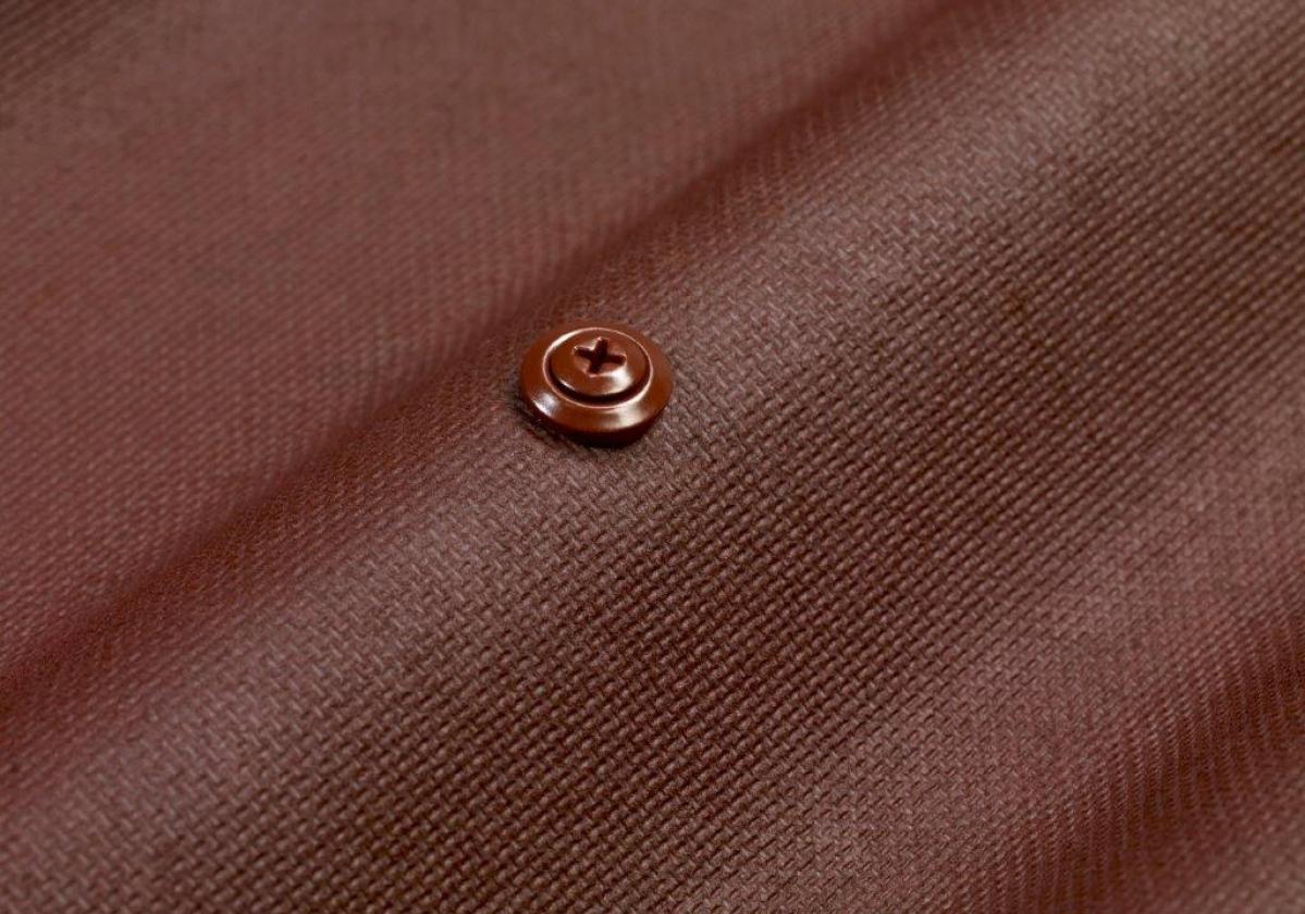 Tornillo universal Onduline fijación placa asfáltica cubierta madera, metal - detalle fijación parte alta onda