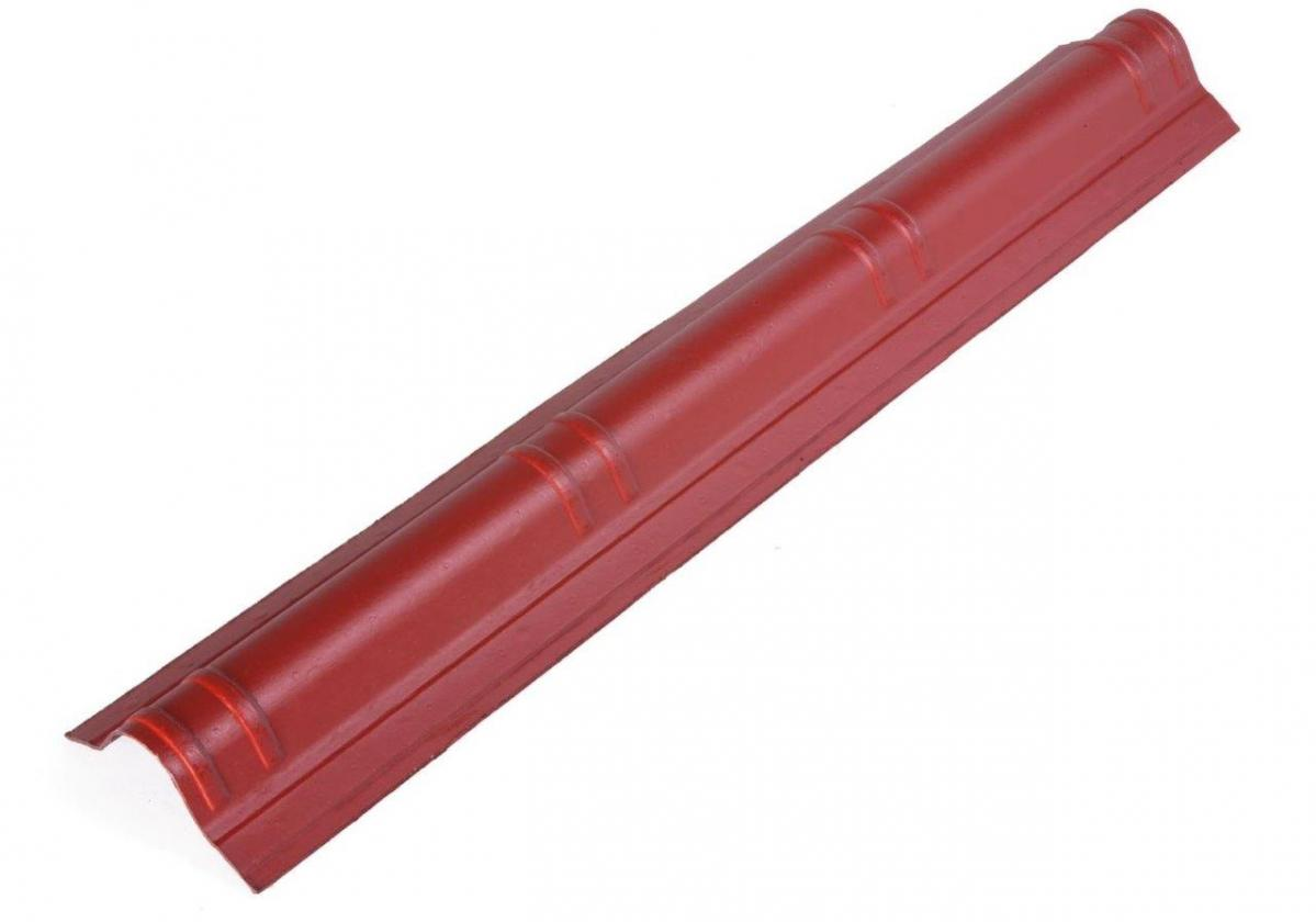 Cumbrera teja asfáltica ligera ONDUVILLA Rojo clásico