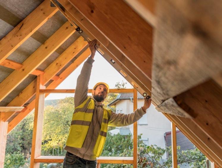 como calcular el tamaño del techo de tu caseta de madera y jardin