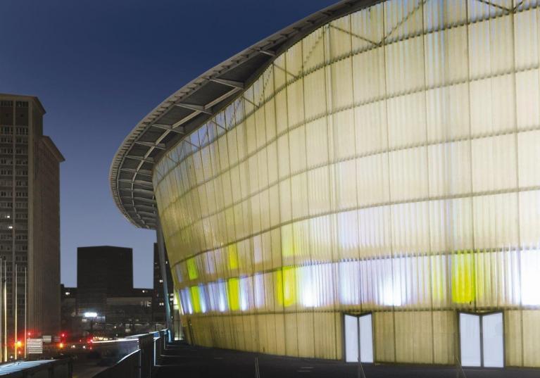 Placas onduladas de poliéster translúcido para cubierta y fachada ONDUCLAIR PLR