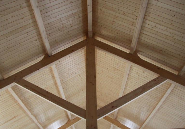 panel sandwich de madera para cubiertas ONDUTHERM