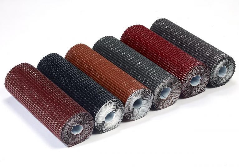 Cinta butilo impermeable sellado remates cubierta FLASHING BAND Onduline - detalle gama colores rollos