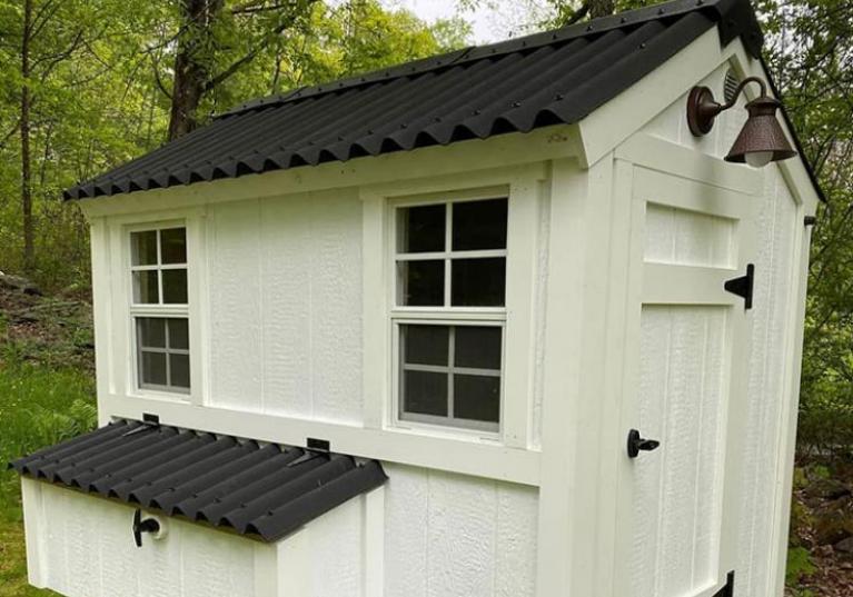 EASYLINE: Placas bituminosa ondulada para techos de casetas
